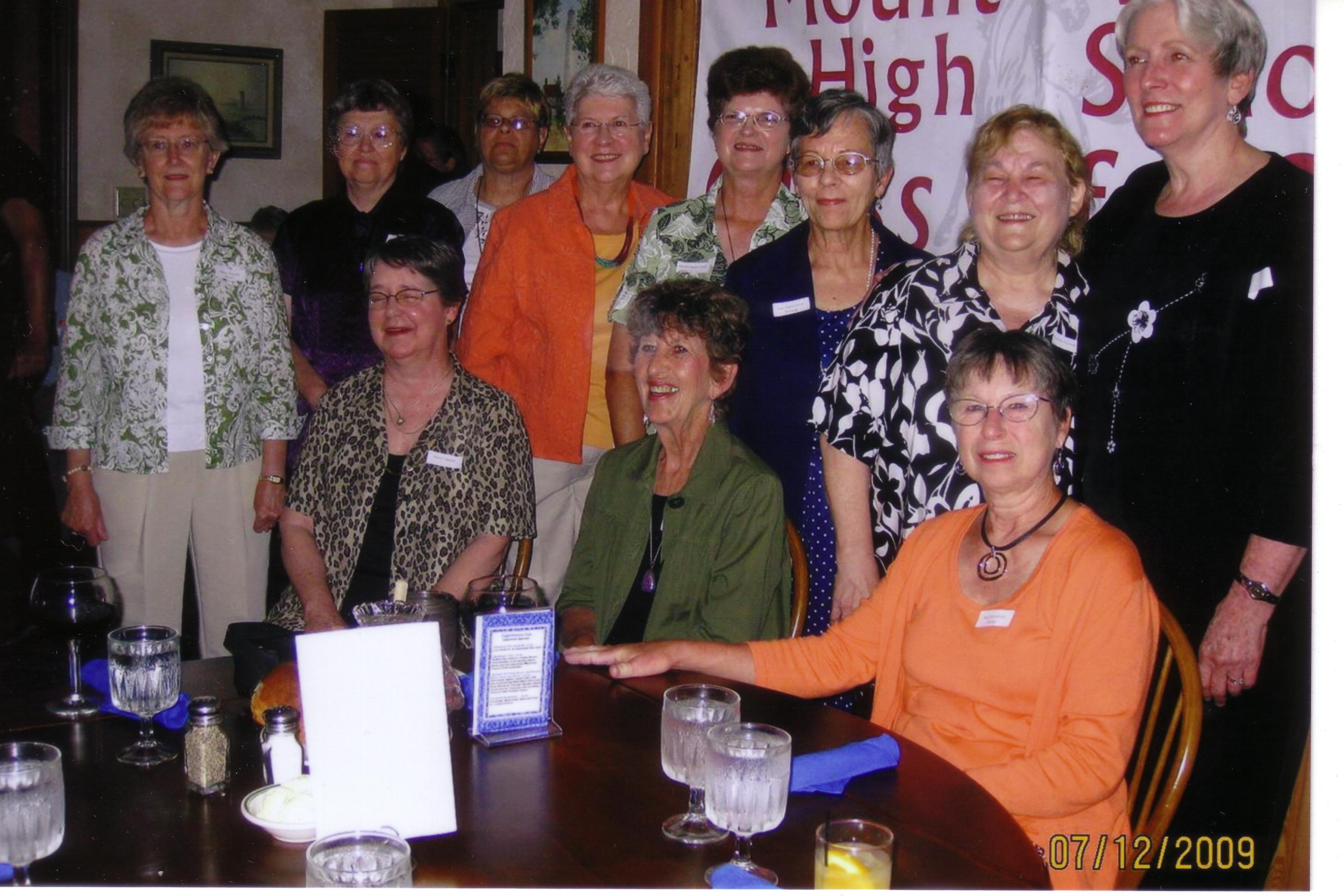 50th reunion Gals